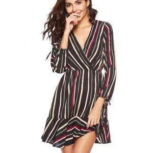 Modern Owl Striped Dress